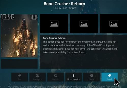 How To Install Bone Crusher Reborn Kodi Addon Step 18