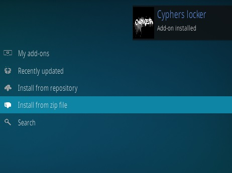 How To Install Cypher Media Kodi Addon Step 13