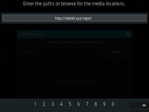 How To Install Defalt Kodi Addon Step 5