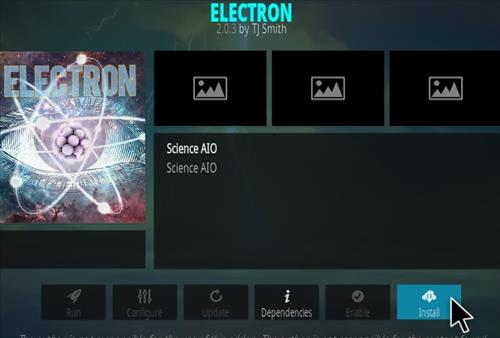 How To Install Electron Kodi Addon Step 18