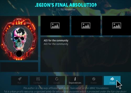 How To Install Legion Final Absolution Kodi Addon Step 18
