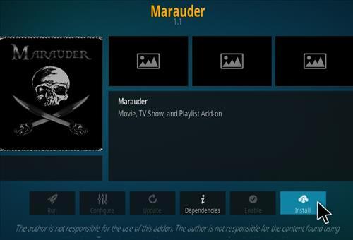 How To Install Marauder Kodi Addon Step 18