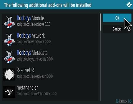 How To Install RooBoys Kodi Addon Step 19