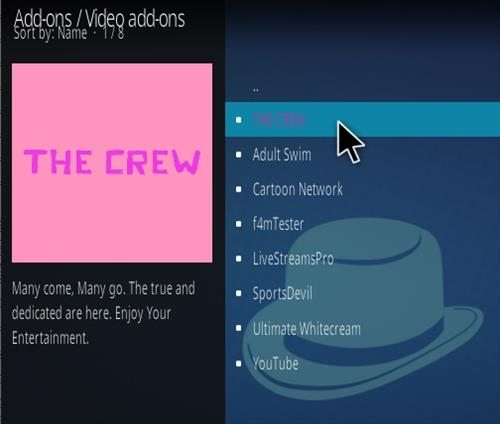 How To Install The Crew Kodi Addon V8 Step 17