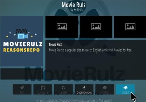 How to Install Movie Rulz Kodi Addon UPdated V011 Step 18