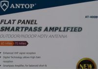 Review ANTOP Big Boy AT-400B Flat Panel HDTV Antenna
