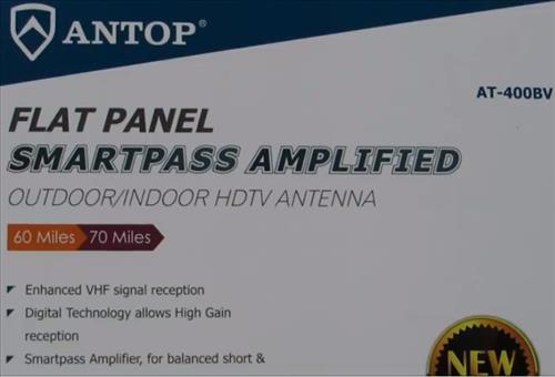 Review ANTOP Big Boy AT-400B Flat Panel HDTV Antenna