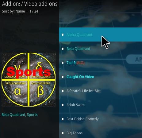 How To Install Alpha Quadrant Kodi Addon Step 17