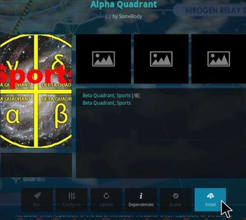 How To Install Alpha Quadrant Kodi Addon Step 18