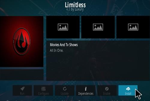 How To Install Limitless Kodi Addon Upastes V43 Step 18
