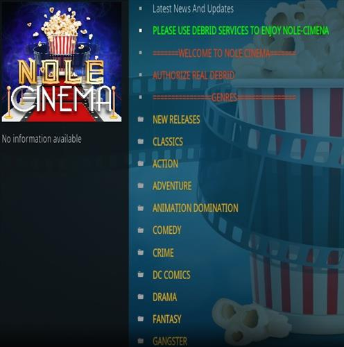 How To Install Nole Cinema Kodi Addon Magentic Repo Overview