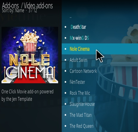 How To Install Nole Cinema Kodi Addon Magentic Repo Step 17