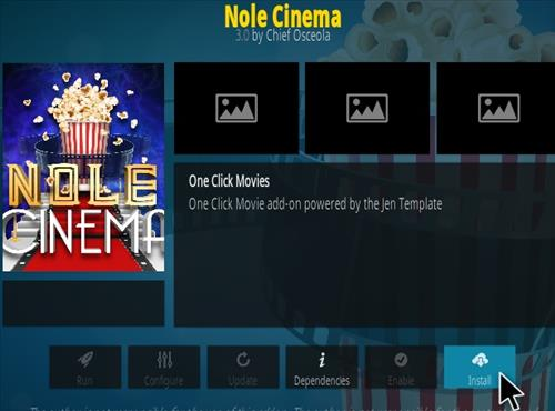 How To Install Nole Cinema Kodi Addon Magentic Repo Step 18