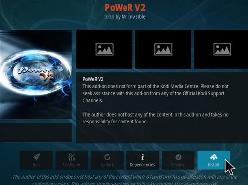 How To Install Power V2 Kodi Addon Step 18