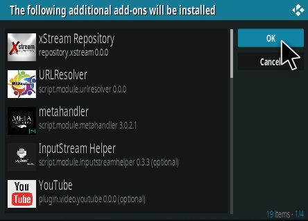 How To Install xStream Kodi Addon German Step 19
