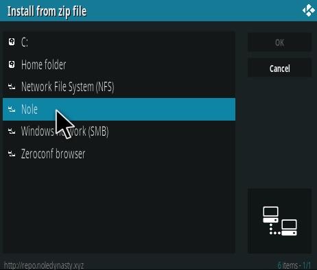 How to Install Apocalypse 720 Kodi Addon Step 11