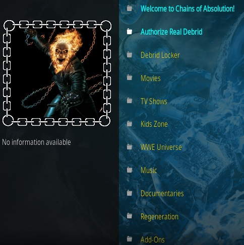 How to Install Chains of Absolution Kodi Addon Overview