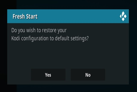 How To Clear Old Data From Kodi and Have a Fresh Start