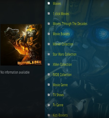 How To Install Bumblebee Kodi Addon Overview