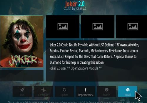 How To Install Joker Kodi Addon Step 18