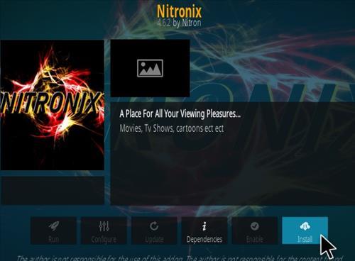 How To Install Nitronix Kodi Addon Step 18