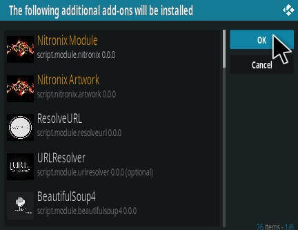 How To Install Nitronix Kodi Addon Step 19