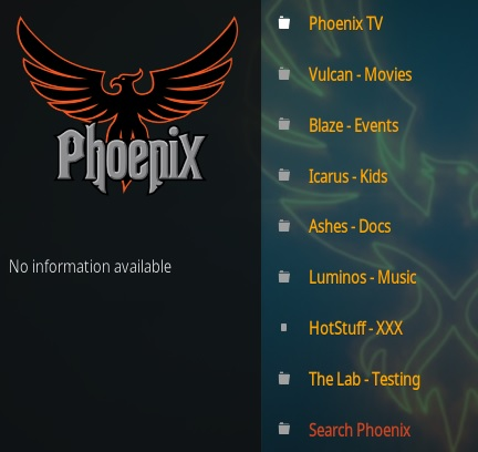 How To Install Phoenix Rises Kodi Addon Overview