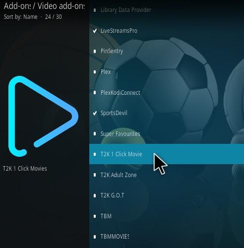 How To Install T2K 1-Click Movie Kodi Addon Update Step 17