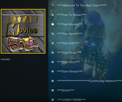 How To Install The Mad Titan Kodi Addon Overview