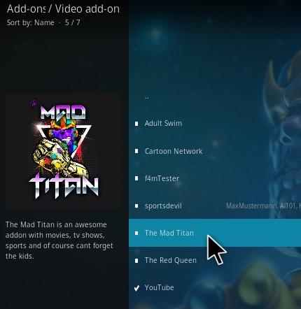 How To Install The Mad Titan Kodi Addon Step 17