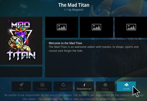 How To Install The Mad Titan Kodi Addon Step 18