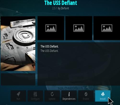 How To Install The USS Defiant Kodi Addon 777 Step 19