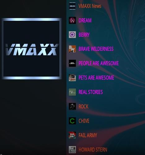 How To Install VMAXX Kodi Addon Overview