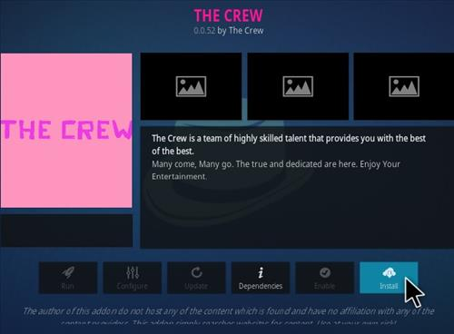 How To Install the Crew Version 10 Step 18
