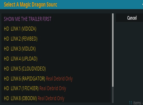 How to Install The Magic Dragon Kodi Add-on Overview 2