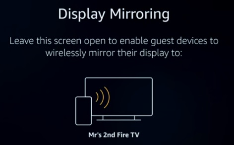 Amazon Fire TV Stick Secret Features and Settings Screen Mirroring