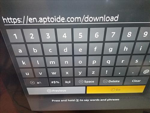 How To Install Aptoide TV to an Amazon Fire TV Stick Updtaed Step 14