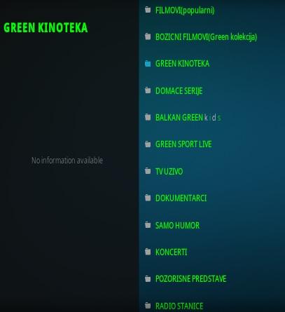 How To Install Balkan Green Kodi Addon Overview