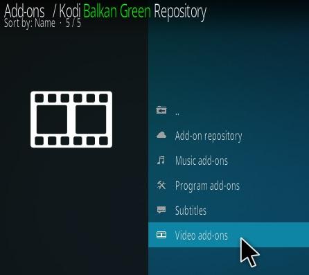 How To Install Balkan Green Kodi Addon Step 16