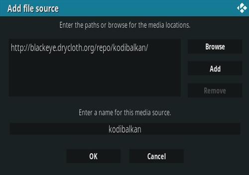 How To Install Balkan Green Kodi Addon Step 7