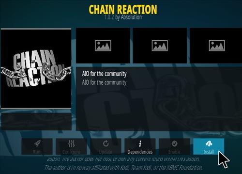 How To Install Chain Reaction Kodi Addon Step 18