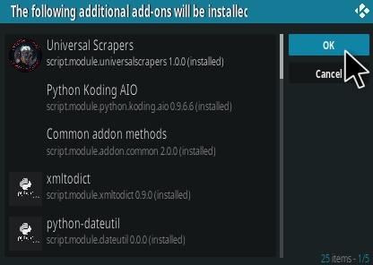 How To Install Chain Reaction Kodi Addon Step 19