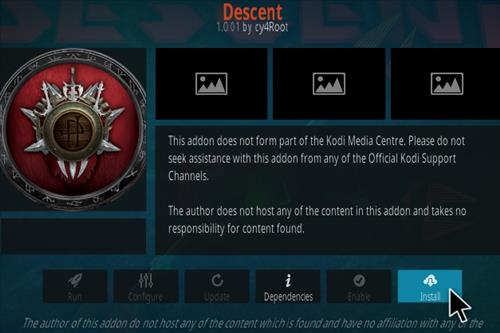 How To Install Descent Kodi Addon Step 18