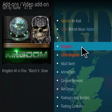 How To Install Kingdom Kodi Addon V Step 17
