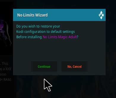How To Install Kodi No Limits Magic Build Step 18