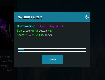 How To Install Kodi No Limits Magic Build Step 19