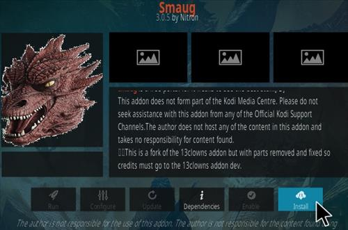 How To Install SMAUG Kodi Addon Step 18