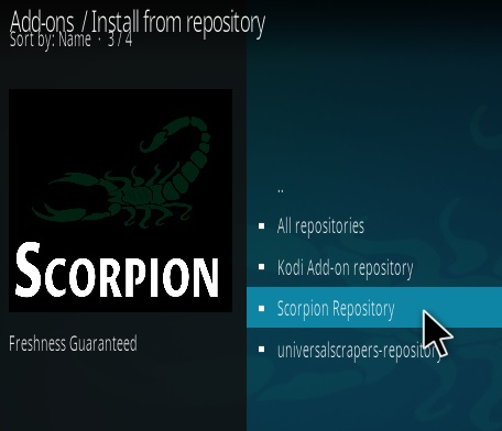How To Install Scorpion Kodi Addon Update Step 16