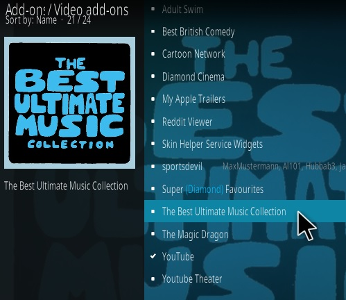How To Install The Best Ultimate Music Collection Kodi Addon Step 16