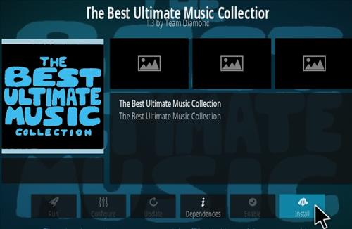 How To Install The Best Ultimate Music Collection Kodi Addon Step 17